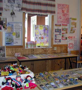 An Art Room Was Set Up In A Refurbished Barn Nearby, And Displays From  Childrenu0027s Art From NHE Schools Were Mounted For All To See.