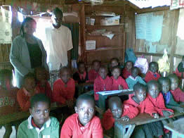A class at the Kangemi School