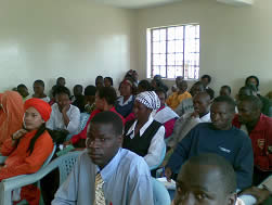 Recent seminar for the teachers in Nairobi.