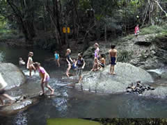Maleny, Australia, swimming