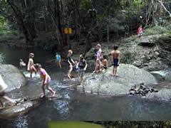Maleny, Australia, swimming